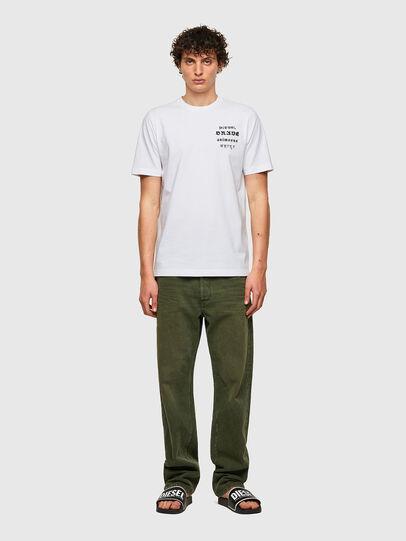 Diesel - T-JUST-B59, Weiß - T-Shirts - Image 4