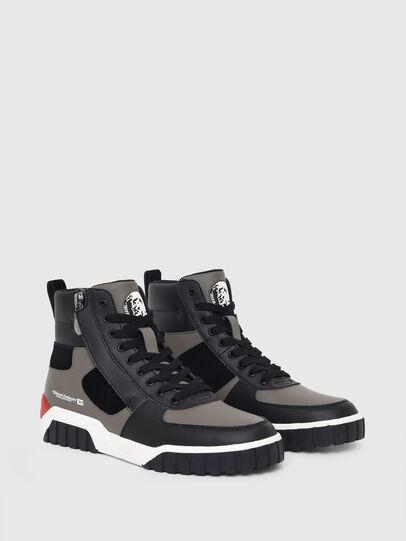 Diesel - S-RUA MID SK, Grau - Sneakers - Image 2