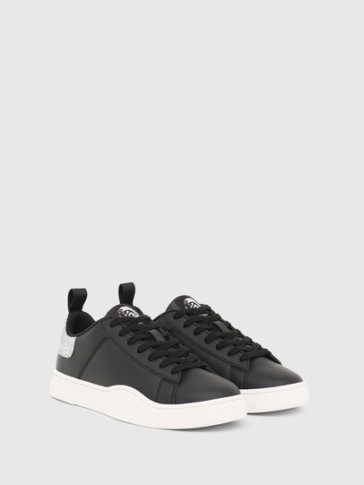 Diesel - S-CLEVER LOW LACE W, Schwarz/Silber - Sneakers - Image 2
