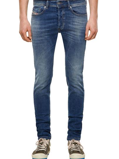 Diesel - Sleenker 09A60, Mittelblau - Jeans - Image 1