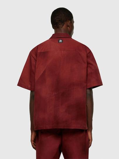 Diesel - S-GUNN-TIE, Rot - Hemden - Image 2
