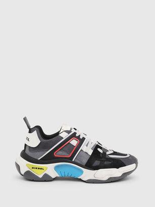 S-KIPPER LOW TREK II, Grau/Weiß - Sneakers