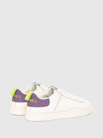 Diesel - S-CLEVER LOW LACE W, Weiss/Violett - Sneakers - Image 3