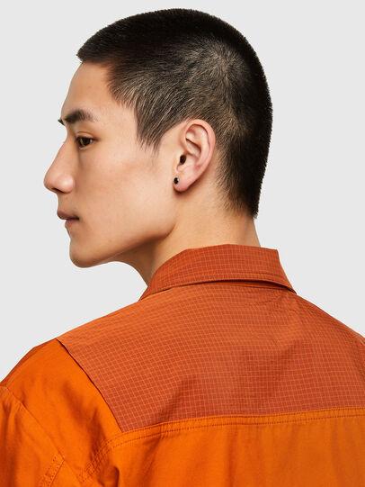 Diesel - S-GUNN-LS, Orange - Hemden - Image 4