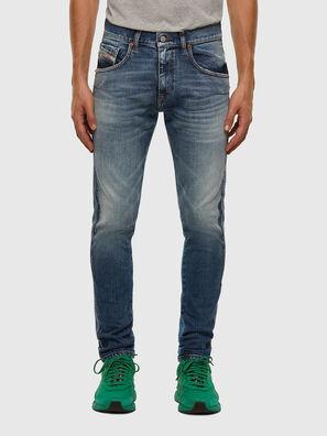 D-Strukt 009GE, Mittelblau - Jeans