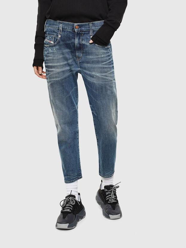 Fayza 0890Y, Mittelblau - Jeans