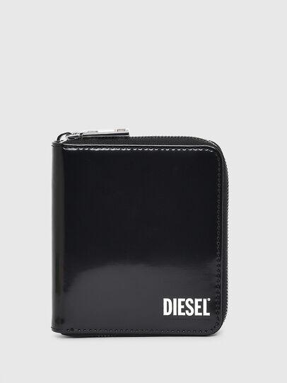 Diesel - PI-ZIP, Schwarz - Portemonnaies Zip-Around - Image 1