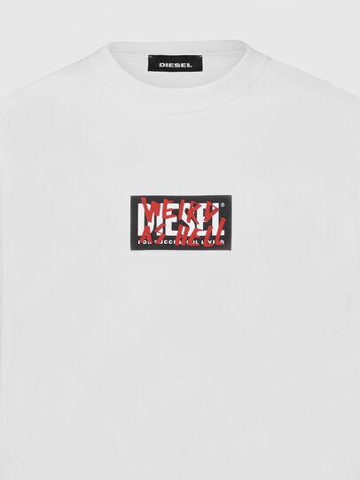 Diesel - S-GIRK-X5, Weiß - Sweatshirts - Image 3