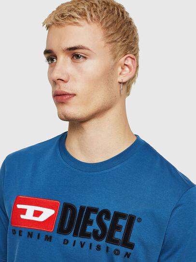 Diesel - T-JUST-DIVISION, Blau - T-Shirts - Image 3