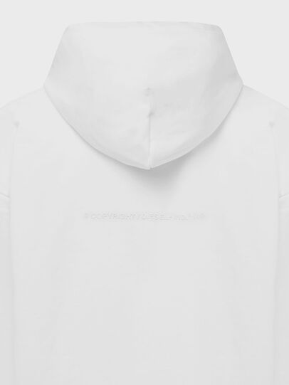 Diesel - S-ALBYEL-X1, Weiß - Sweatshirts - Image 4