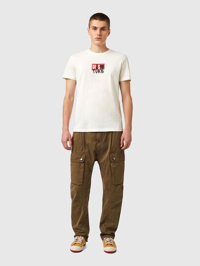 Diesel - T-DIEGOS-B10, Weiß - T-Shirts - Image 4