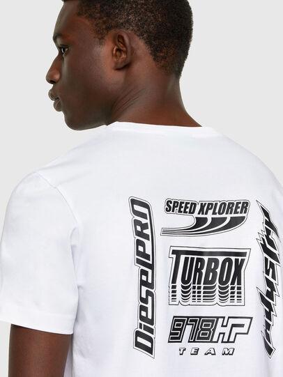 Diesel - T-DIEGOS-K42, Weiß - T-Shirts - Image 3