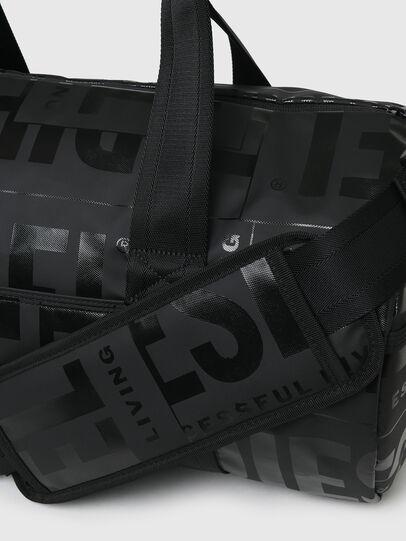 Diesel - X-BOLD DUFFLE, Schwarz - Reisetaschen - Image 5