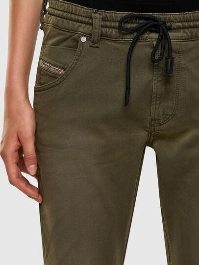 Diesel - Krailey JoggJeans 0670M, Armeegrün - Jeans - Image 3
