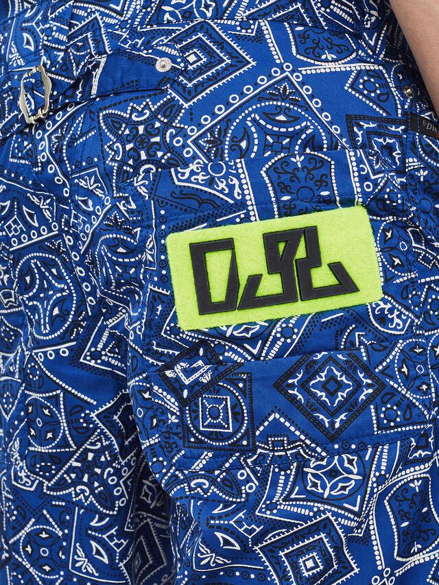 Diesel - P-FRANK-DNM-SHORT-P, Blau - Kurze Hosen - Image 3