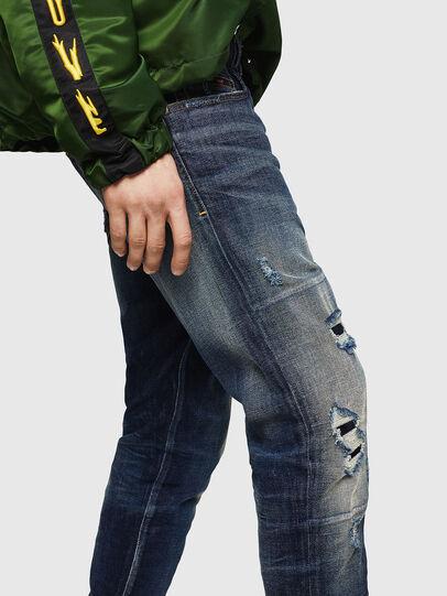 Diesel - D-Strukt 0890W, Dunkelblau - Jeans - Image 3