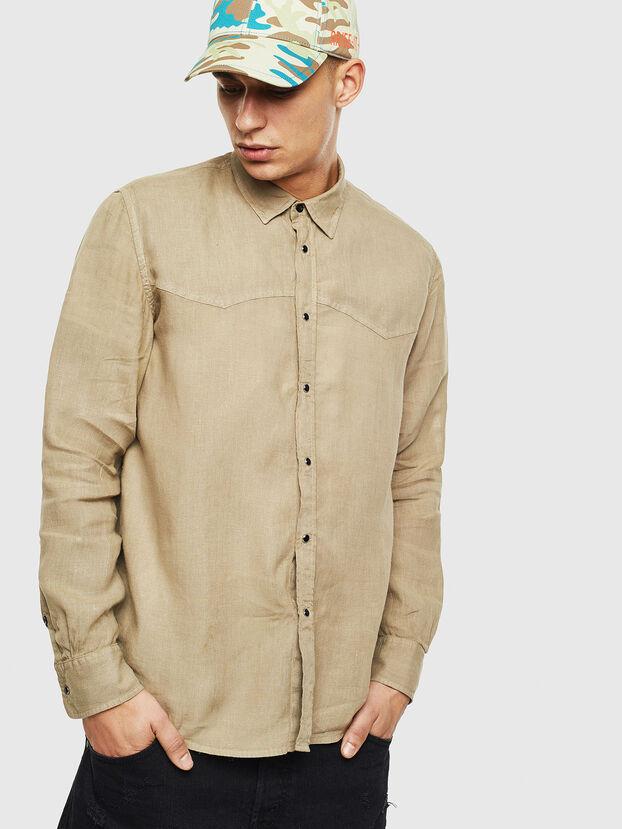S-PLAN-B, Armeegrün - Hemden
