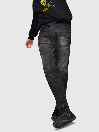 Diesel - D-Earby JoggJeans 069GN, Schwarz/Dunkelgrau - Jeans - Image 4