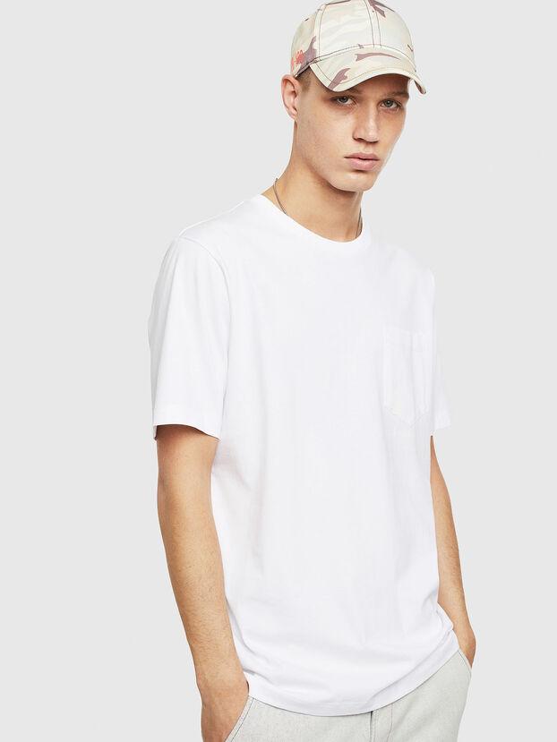T-JUST-POCKET-T17, Weiß - T-Shirts