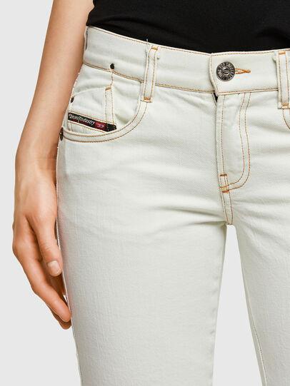 Diesel - D-Ebbey 009ZA, Weiß - Jeans - Image 4