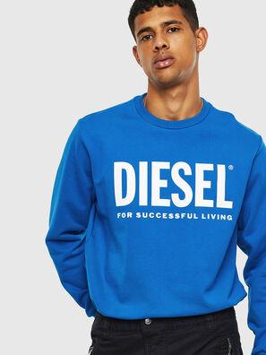 S-GIR-DIVISION-LOGO, Hellblau - Sweatshirts