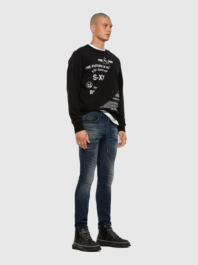 Diesel - Thommer JoggJeans® 069NT, Dunkelblau - Jeans - Image 5