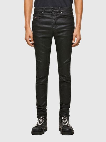 Diesel - D-Reeft JoggJeans® 069TE, Schwarz/Dunkelgrau - Jeans - Image 1
