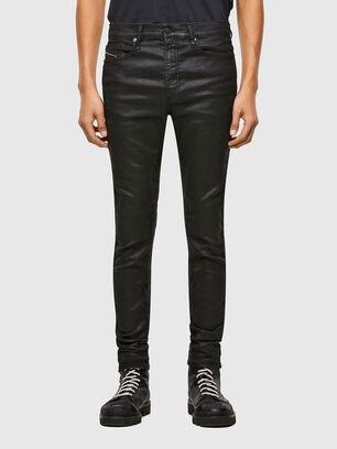 D-REEFT JoggJeans® 069TE, Schwarz/Dunkelgrau - Jeans