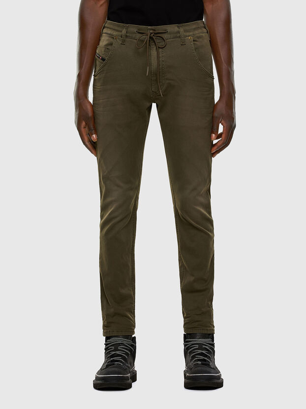 Krooley JoggJeans 0670M, Dunkelgrün - Jeans