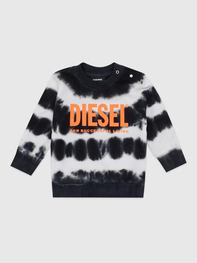 Diesel - SOBEZB, Schwarz/Weiss - Sweatshirts - Image 1