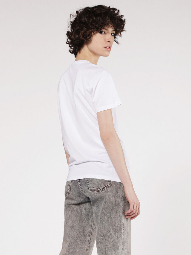 Diesel - T-EXPLO, Weiß - T-Shirts - Image 2