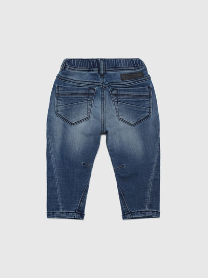 Diesel - FAYZA B JOGGJEANS-N, Mittelblau - Jeans - Image 2