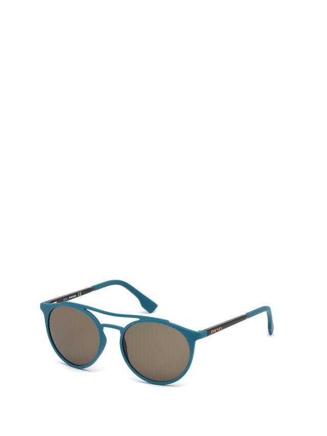 Diesel - DM0195, Blau - Sonnenbrille - Image 4