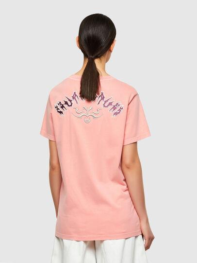 Diesel - T-DARIA-A3, Rosa - T-Shirts - Image 2