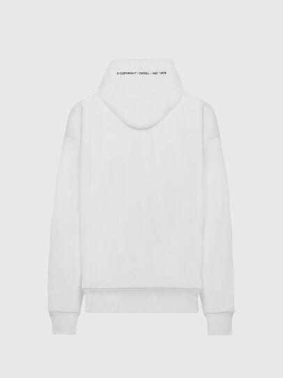Diesel - S-ALBY-COPY-J1, Weiß - Sweatshirts - Image 2