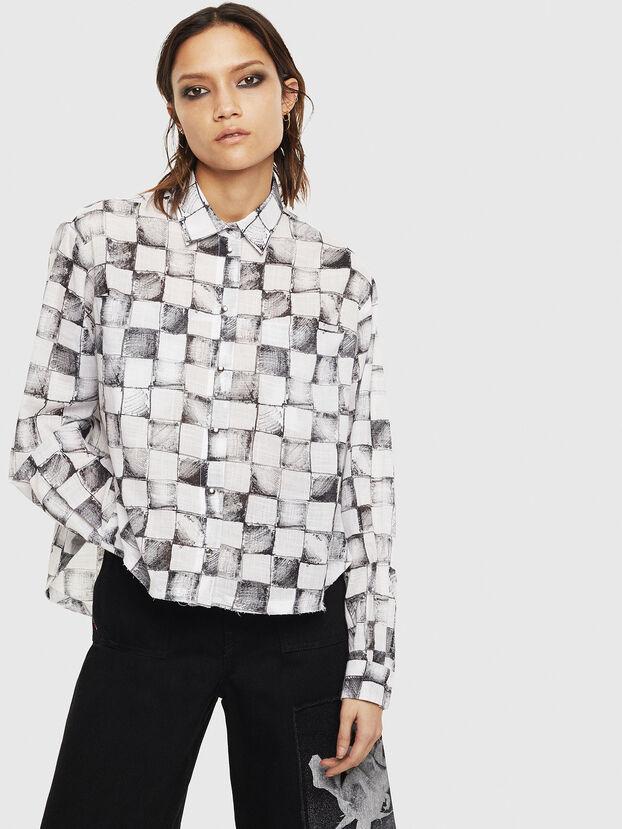 C-SUNNY, Weiß - Hemden
