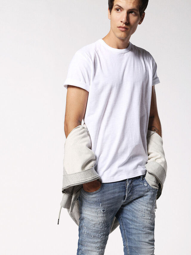 Diesel - T-TERRENCE, Weiß - T-Shirts - Image 3