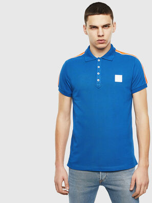 T-RALFY-S1, Blau - Polohemden
