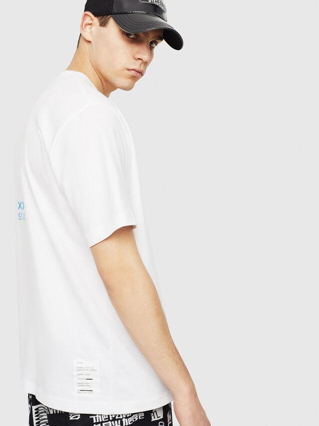 Diesel - T-JUST-Y23, Weiß - T-Shirts - Image 3