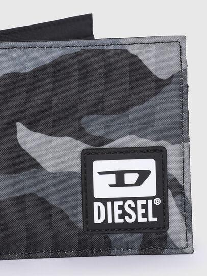 Diesel - HIRESH S, Grau/Schwarz - Kleine Portemonnaies - Image 4