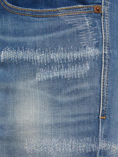 Diesel - Sleenker 009FC, Mittelblau - Jeans - Image 5