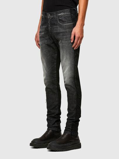 Diesel - D-Strukt 009HY, Schwarz/Dunkelgrau - Jeans - Image 6