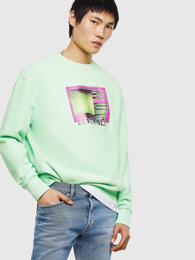 S-BIAY-FLUO, Neongrün - Sweatshirts