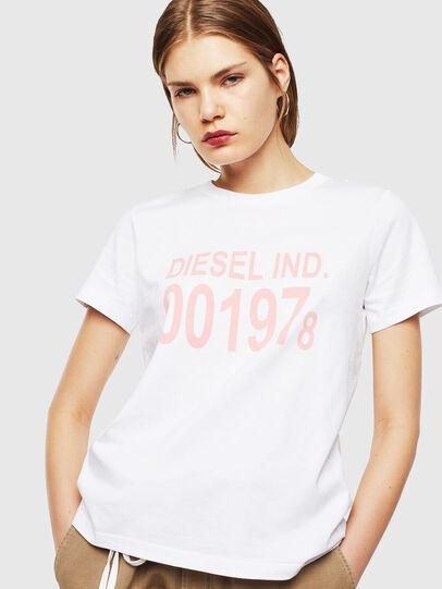 Diesel - T-SILY-001978, Weiß - T-Shirts - Image 1