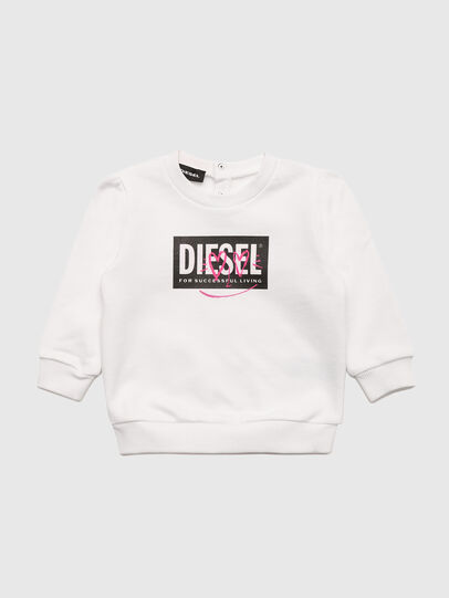 Diesel - SOOLB, Weiß - Sweatshirts - Image 1