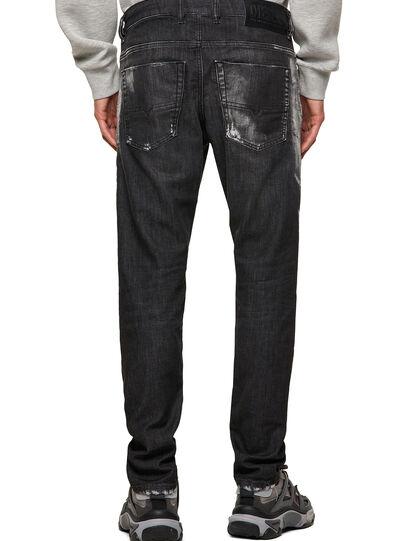 Diesel - Krooley JoggJeans® 09B53, Schwarz/Dunkelgrau - Jeans - Image 2