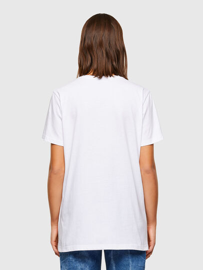 Diesel - T-DARIA-R2, Weiß - T-Shirts - Image 2