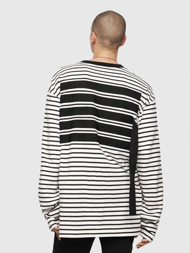 Diesel - T-DAICHI, Weiß/Schwarz - T-Shirts - Image 2