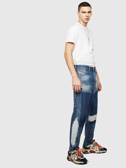 Diesel - D-Franky 009CB, Mittelblau - Jeans - Image 4