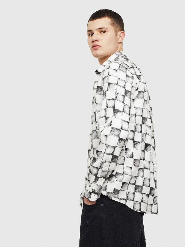 S-CLES, Weiß - Hemden